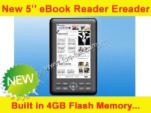 5 tft lcd ebook reader ereader c paper 4g flash memory wholesale export