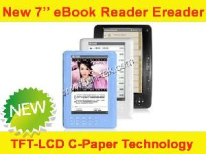 7inch c paper technology tft lcd dispaly ebook reader ereader export wholesale