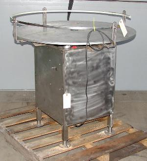 40 rotary accumulation table