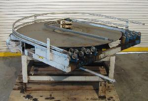 48 rotary accumulating table