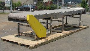 stainless steel rectangular flow accumulation table