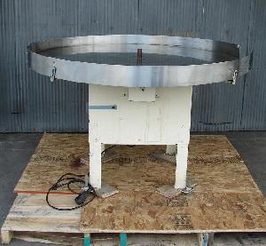 stainless steel rotary accumulation table