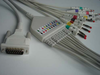 schiller ekg cable 10 leads rsdk147fgh