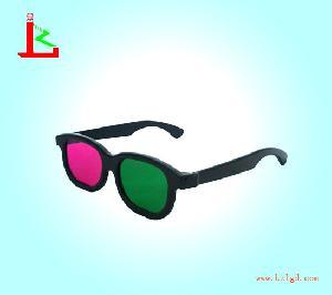 plastic green magenta 3d glasses kzl r 05