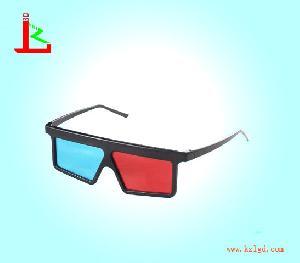 plastic blue 3d glasses kzl r 04
