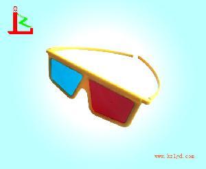 plastic cyan 3d glasses kzl r 03