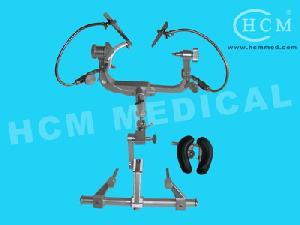 doro mayfield skull clamp encephalic operation brackets base arm rest horseshoe n