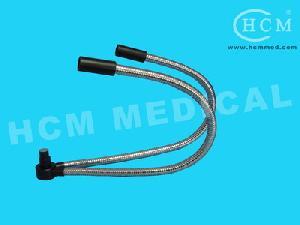 endoscope stainless steel gooseneck fiber goose neck cable