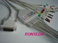 schiller cardiovit ekg cable ecg 10 leads aha iec