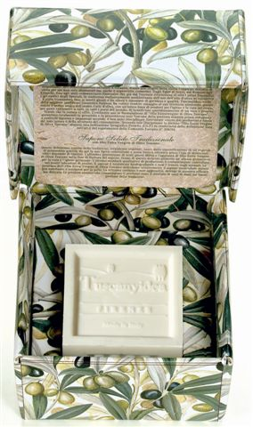 flip box solid soap tuscan virgin olive oil
