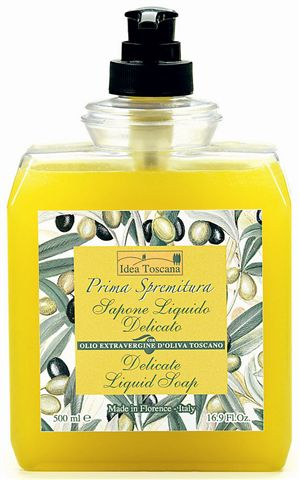 liquid soap tuscan virgin olive oil