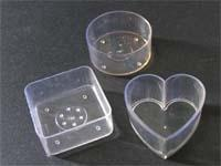 acrylic tealight container clear tea light cup transparent lite pc