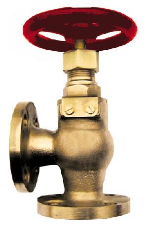 bronze marine valve jis f7352 screw check angle 5k