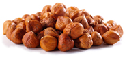hazelnuts conventional organic dried apricots figs chestnuts