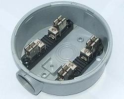 tye round meter socket