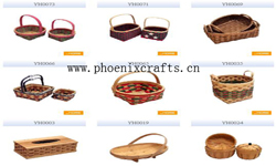 baskets basketware wickerwork basketry box tray bamboo rattan steel wir