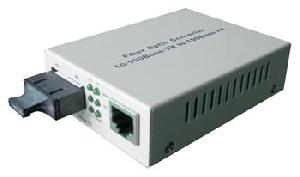 10 100m fast ethernet fiber media converter