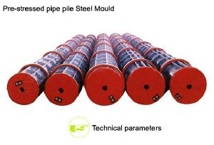 prestressed concrete pipe piles equipment