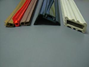 flexible soft rigid hard pvc plastic extrusion profile