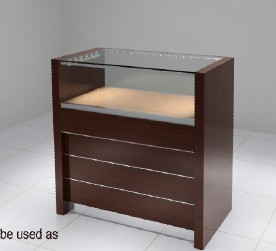 import disply cabinets