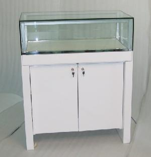 wooden display cabinets