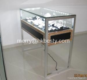 showcase cabinet jewelry