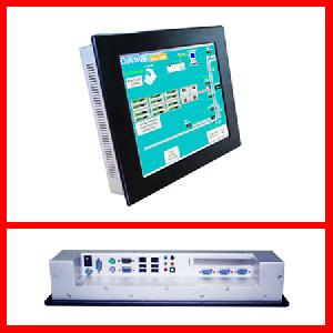 15 inches intel core 2 duo hmi indusrial computer iec 615pf