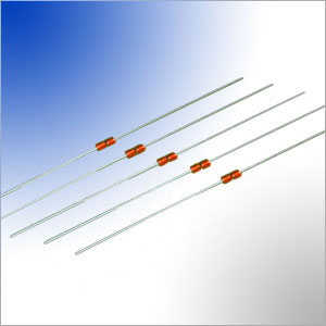 axial leaded glass encapsulated ntc thermistor temperature sensing