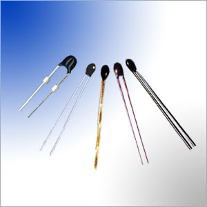 radial leaded epoxy resin coated ntc thermistor temperature sensing