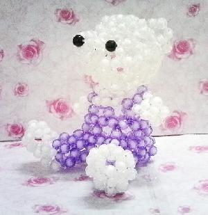 wholesale acrylic beaded teddy bear