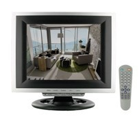 12inch security lcd cctv monitor bnc interface
