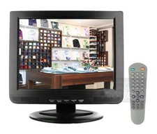 15inch bnc security lcd cctv monitor