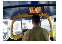 3g wireless network taxi car headrest lcd screen built pillow digital usb frame cab
