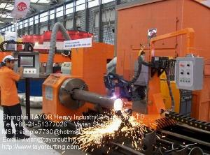 welding machine pipe profile cutting