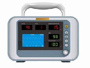 multi parameter patient monitor 3 5 etco2 spo2 ronseda 2001