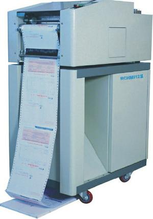 pressure sensitive form envelope folder sealer