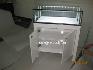 led piano glossy display showcases