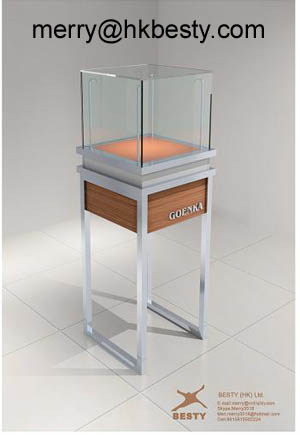 watch display cabinets power led light
