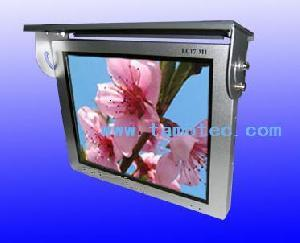 automobile advertising lcd gps bus auto announcer system