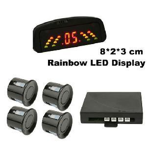 parking sensor rainbow led display