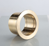 oilite brass bushing teflon bearing flange bushes plain sleeve