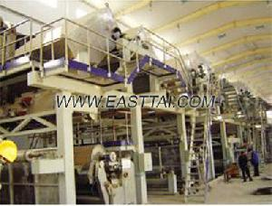 multi wire section four coated board paper machine