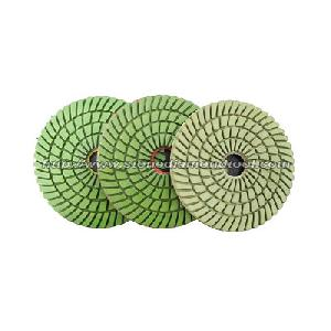 3 step wet polishing pads