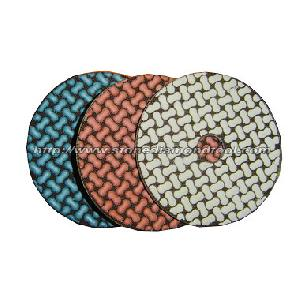5 step dry polishing pads