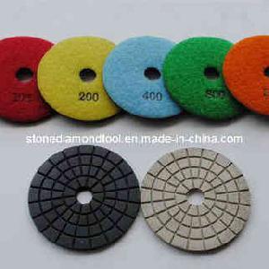 diamond polishing pads