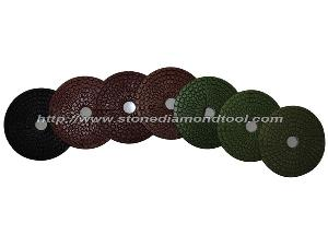 diamond wet flexible polishing pads abrasive tool