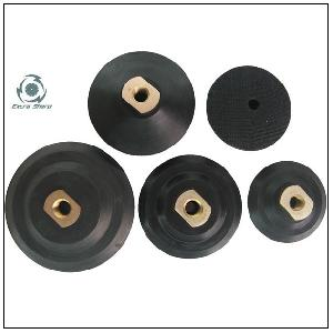 rubber stone backing pads