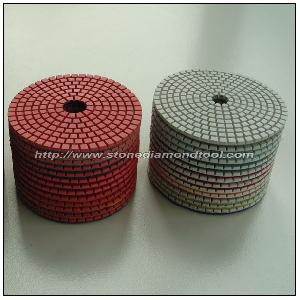 wet polishing pad flexible stone processing tool