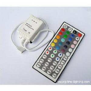 led 44 keys ir remote controller flexible smd5050 rgb strip lighting wholesale