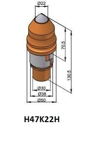 h47k22h engineering bits foundation drilling projects